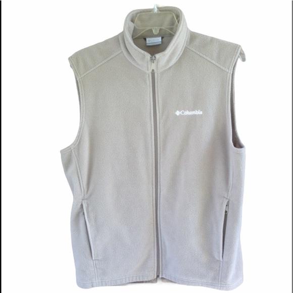 Columbia Fleece Vest Size Large